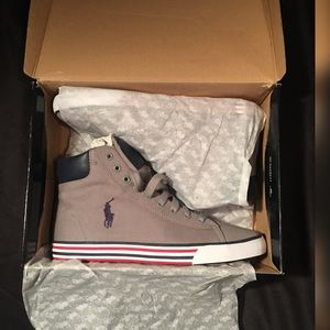 Hightop Polo sneakers